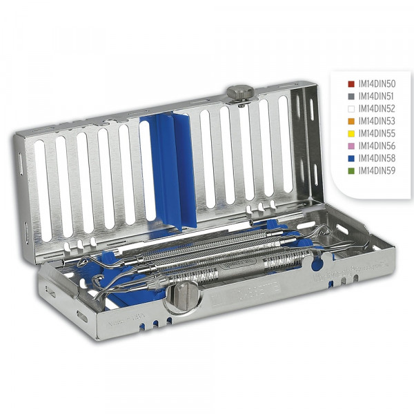 IMS Kassette Signature 1/4 DIN 5 Instrumente, blau