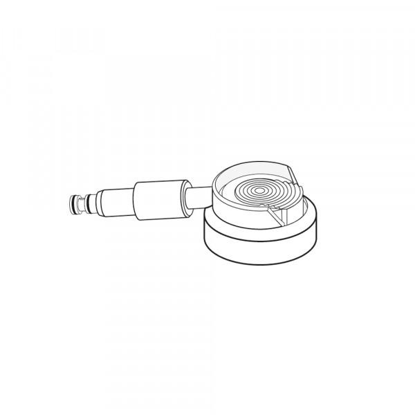 Sprühkopf mit Sprayadapter, für Multiflex®-Anschluss