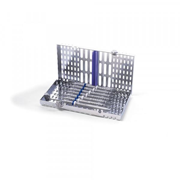 IMS Kassette Signature flach, 7 Instrumente, blau